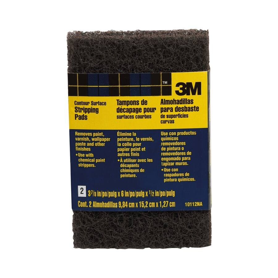 3M 3.75-in W x 6-in L Commercial Non-Woven Pad Sandpaper