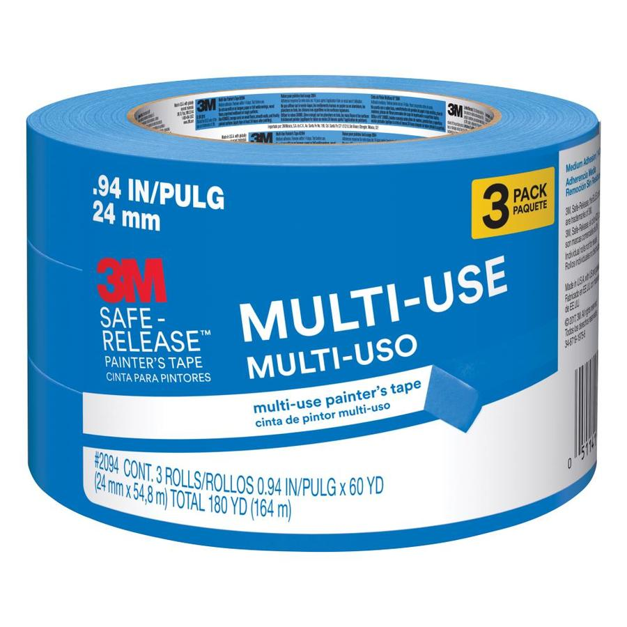 3M 3-Pack 0.94-in Painter's Tape
