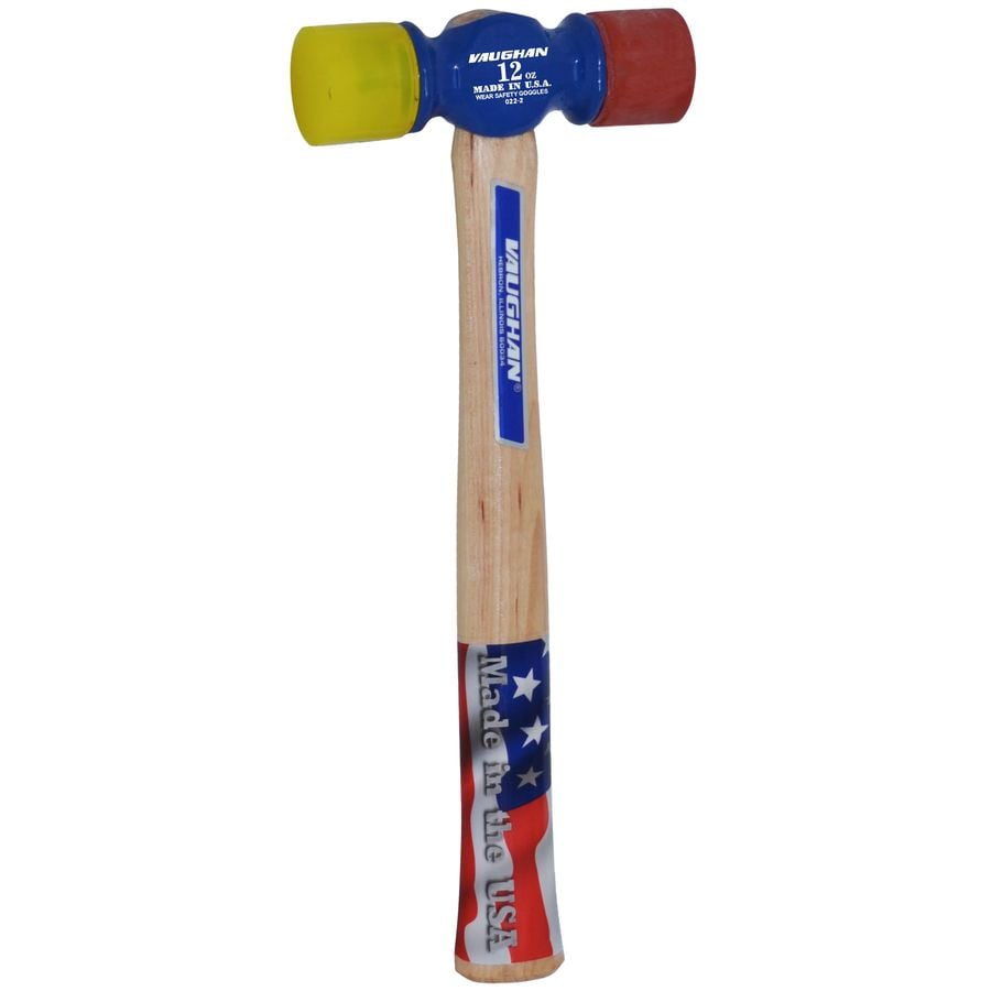 VAUGHAN 12-oz Soft Face Hammer with Replaceable Tips