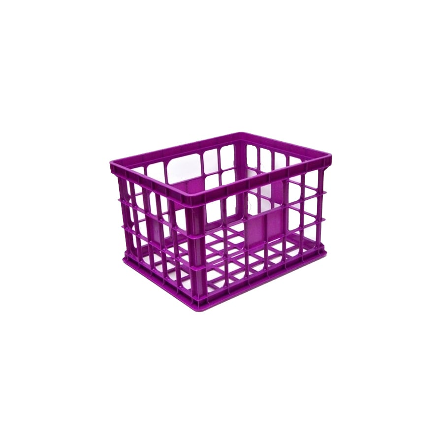 United Solutions 17-in W x 14-in H x 11-in D Plastic Milk Crate