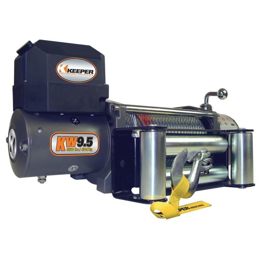 Keeper 5.5-HP 9,500-lb Universal Winch