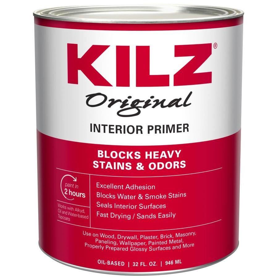 KILZ Kilz Original Low Voc Interior Oil Primer (Actual Net Contents: 32-fl oz)