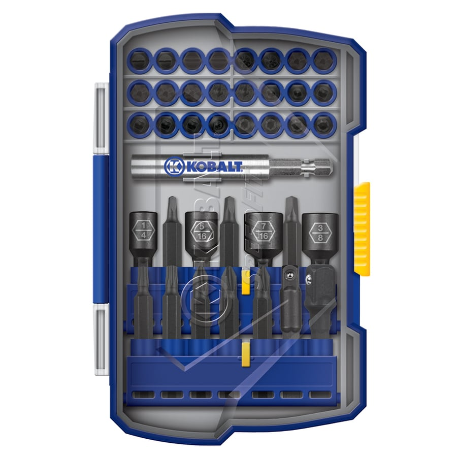 Kobalt 39-Piece Screwdriver Bit Set