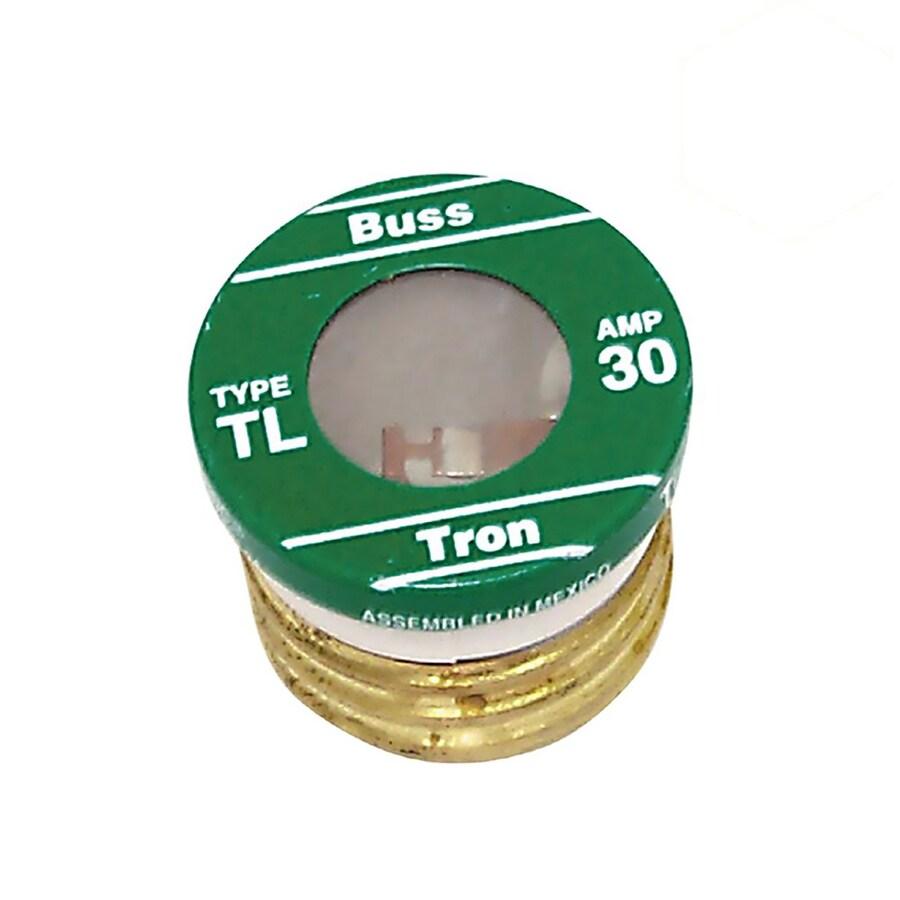 Cooper Bussmann 3-Pack 30-Amp Time Delay Plug Fuse