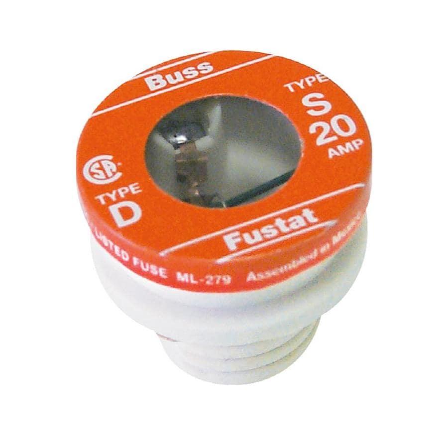 Cooper Bussmann 2-Pack 20-Amp Time Delay Plug Fuse