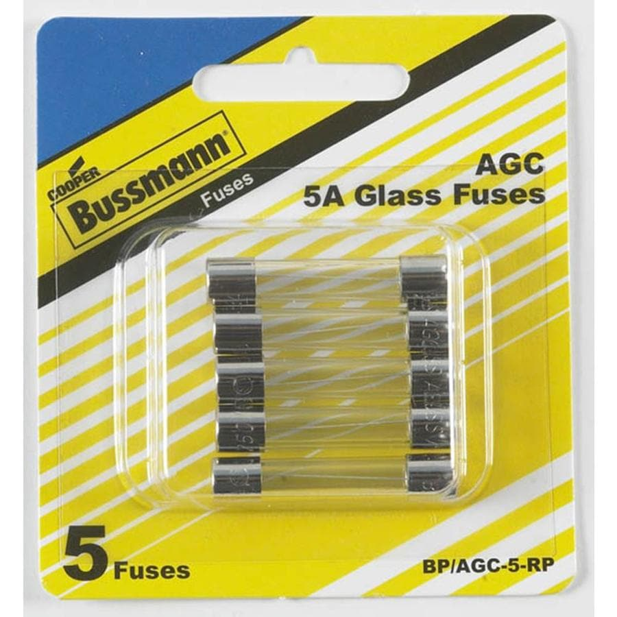 Cooper Bussmann 5-Pack 5-Amp Fast Acting Electronic Fuse
