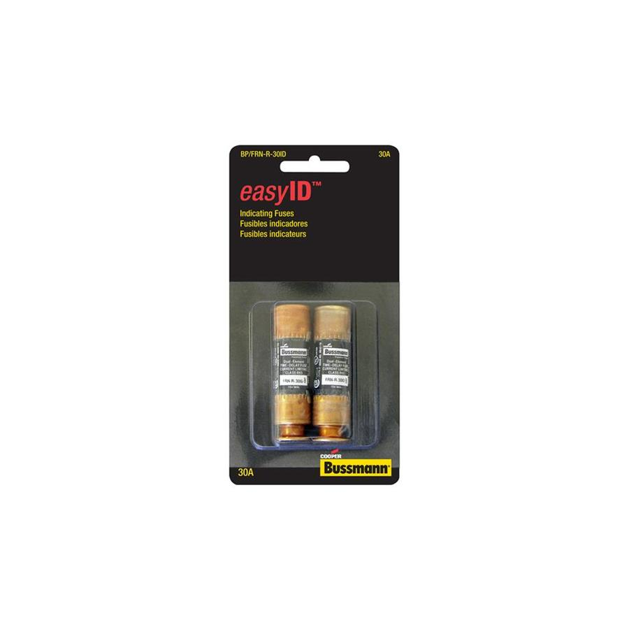 Cooper Bussmann 2-Pack 30-Amp Time Delay Cartridge Fuse