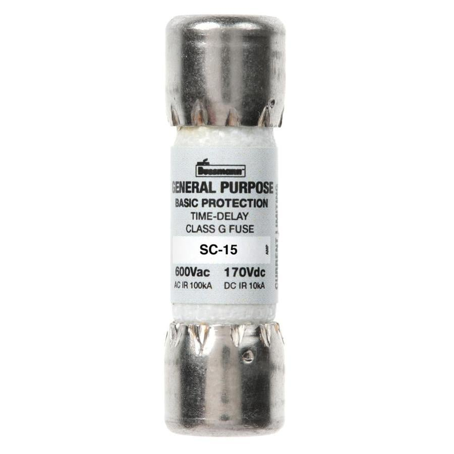 Cooper Bussmann 2-Pack 15-Amp Time Delay Electronic Fuse