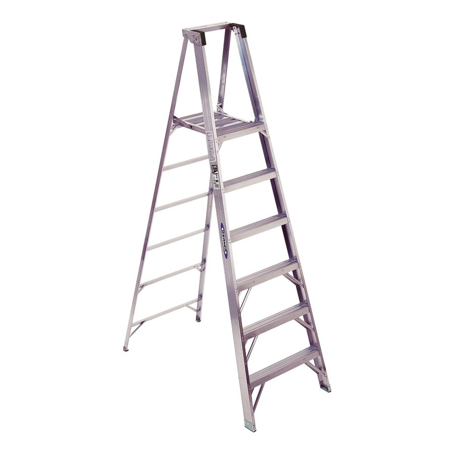 Werner 6-ft Aluminum 300-lb Type IA Platform Ladder