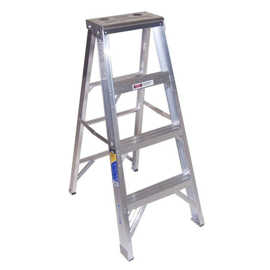 Werner 4-ft Aluminum 375-lb Type IAA Step Ladder