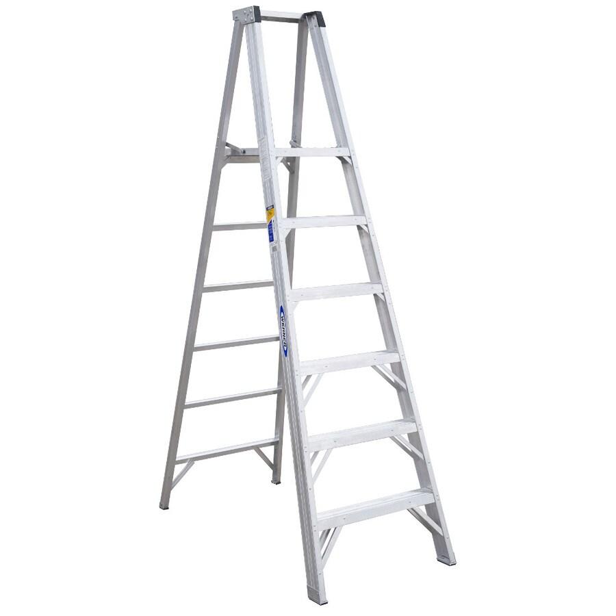 Werner 6-ft Aluminum 375-lb Type IAA Platform Ladder