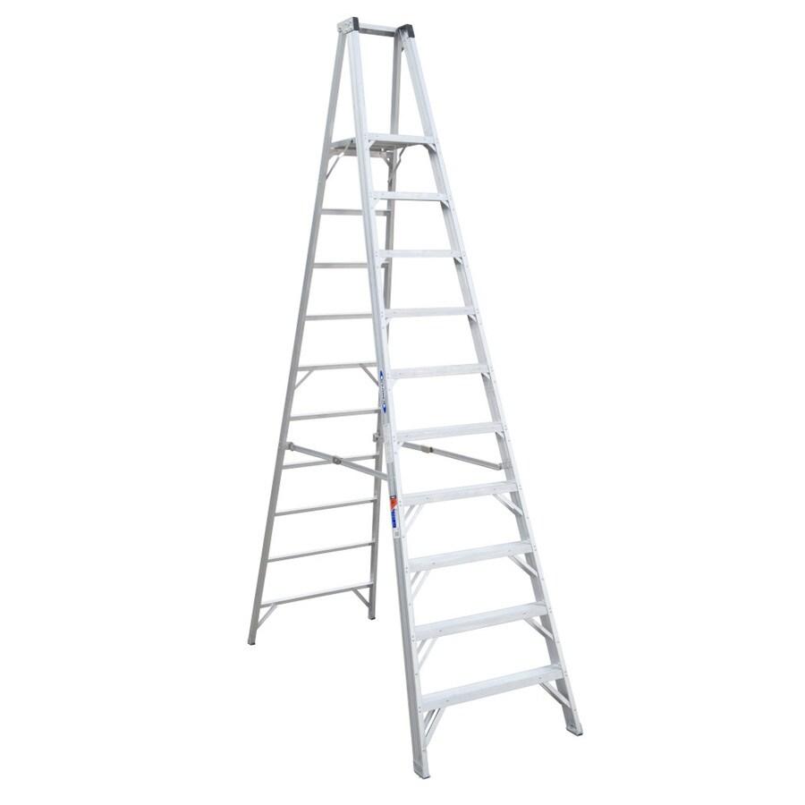 Werner 10-ft Aluminum 300-lb Type IA Platform Ladder