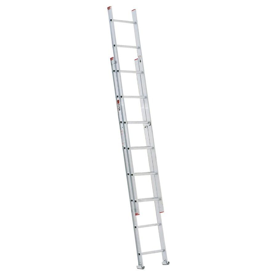 Werner 16-ft Aluminum 200-lb Type III Extension Ladder