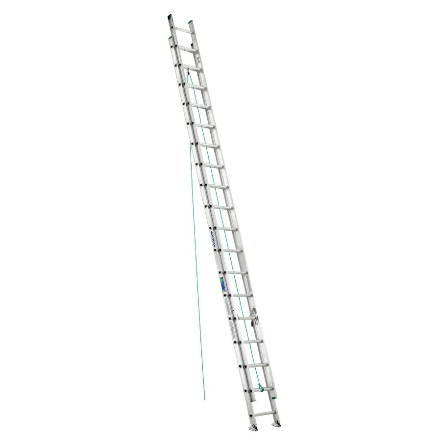 Werner 36-ft Aluminum 225-lb Type II Extension Ladder