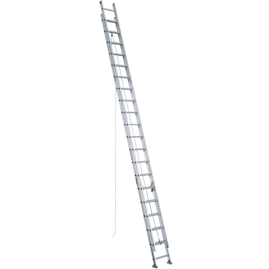 Werner 40-ft Aluminum 225-lb Type II Extension Ladder