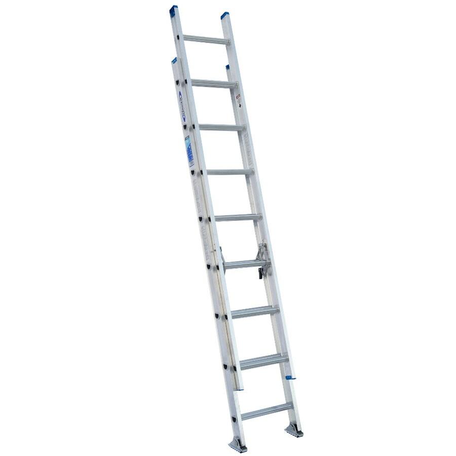 Werner 16-ft Aluminum 250-lb Type I Extension Ladder