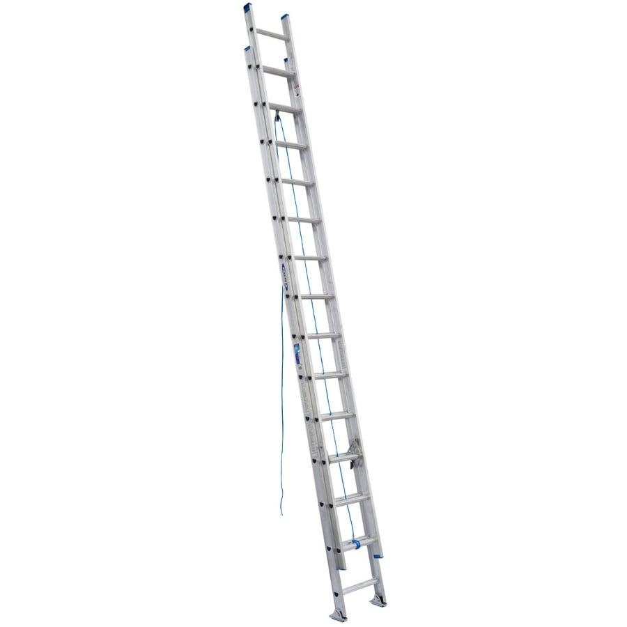 Werner 28-ft Aluminum 250-lb Type I Extension Ladder