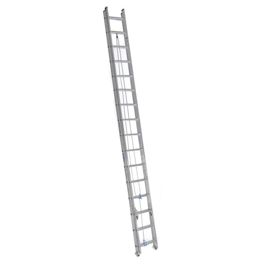 Werner 32-ft Aluminum 250-lb Type I Extension Ladder