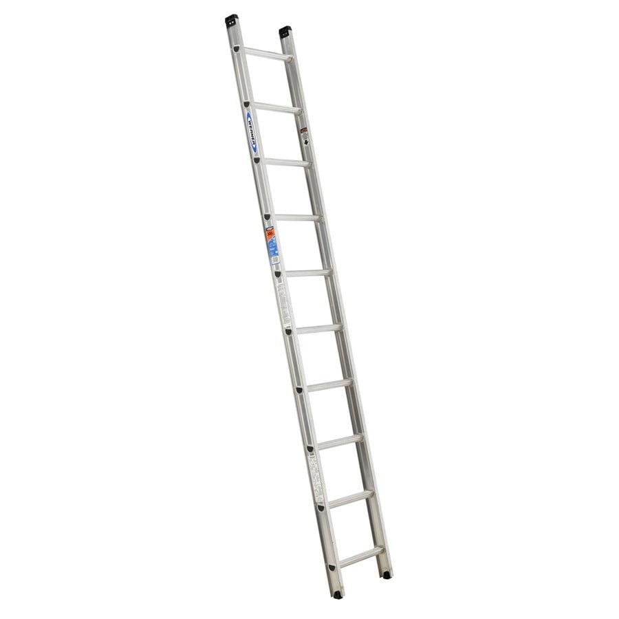 Werner 10-ft Aluminum 300-lb Type IA Straight Ladder