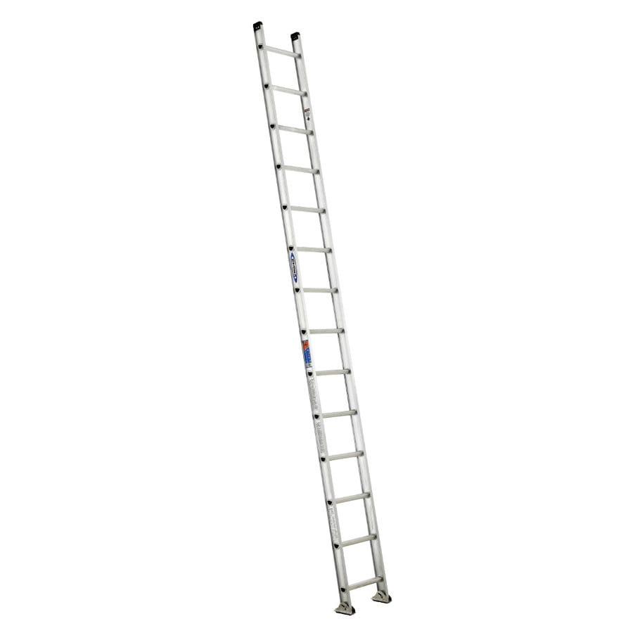 Werner 14-ft Aluminum 300-lb Type IA Straight Ladder