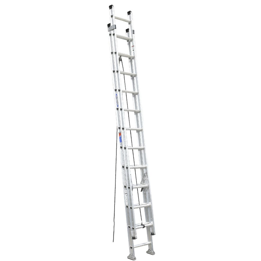 Werner 24-ft Aluminum 300-lb Type IA Extension Ladder