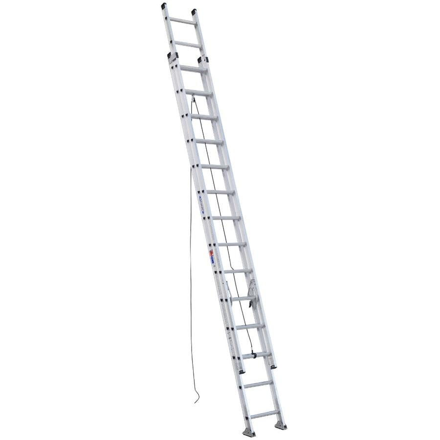 Werner 28-ft Aluminum 300-lb Type IA Extension Ladder