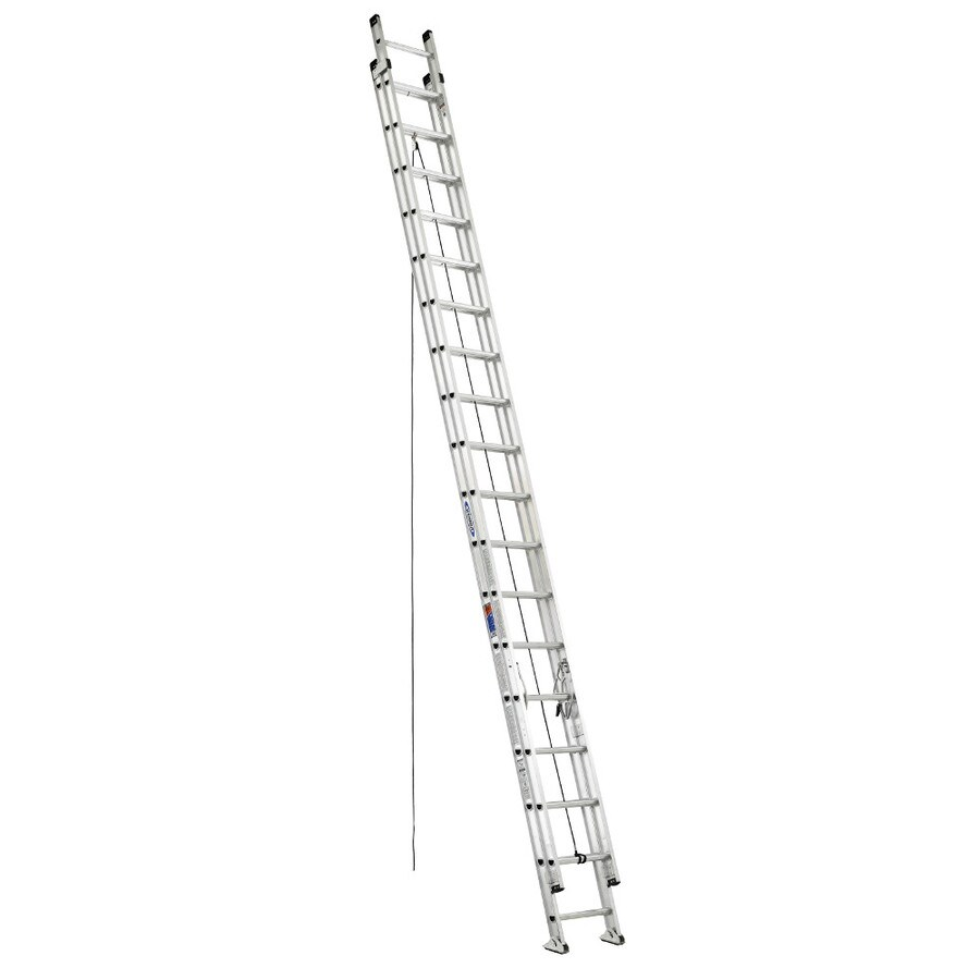 Werner 36-ft Aluminum 300-lb Type IA Extension Ladder