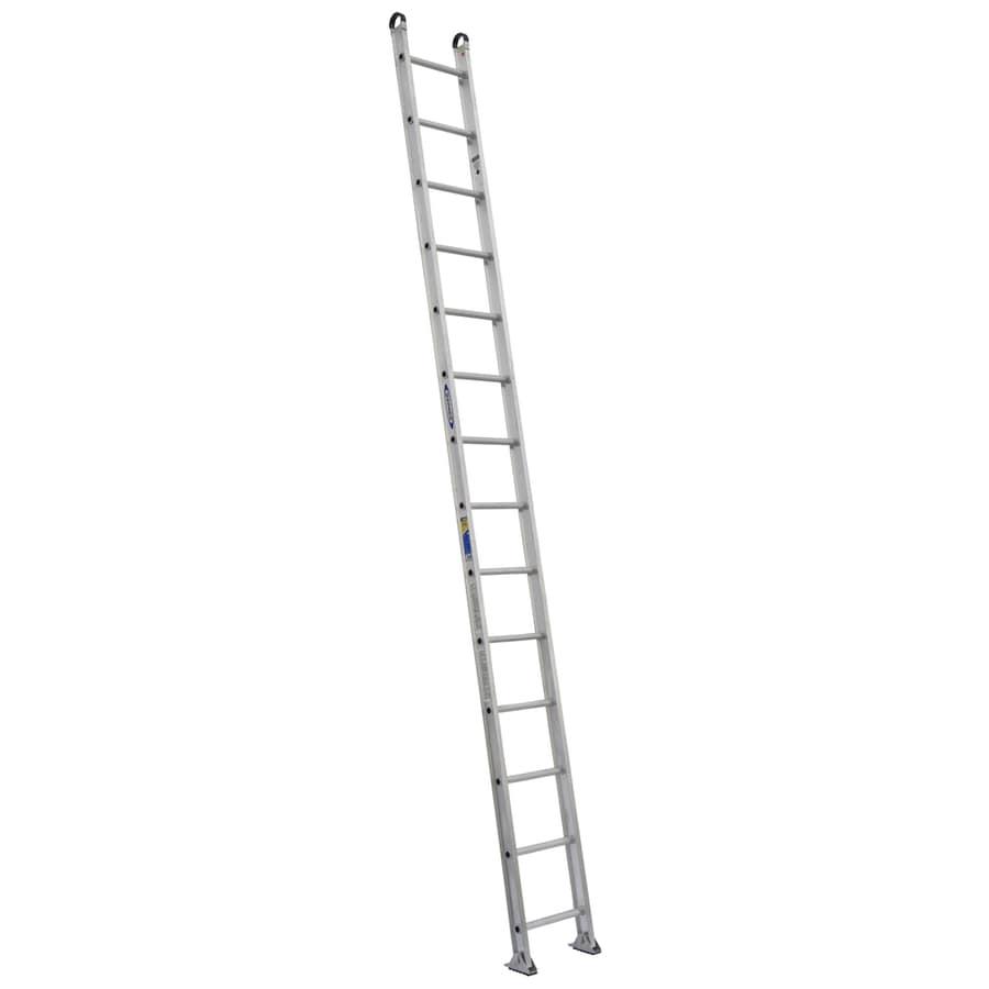 Werner 14-ft Aluminum 375-lb Type IAA Straight Ladder