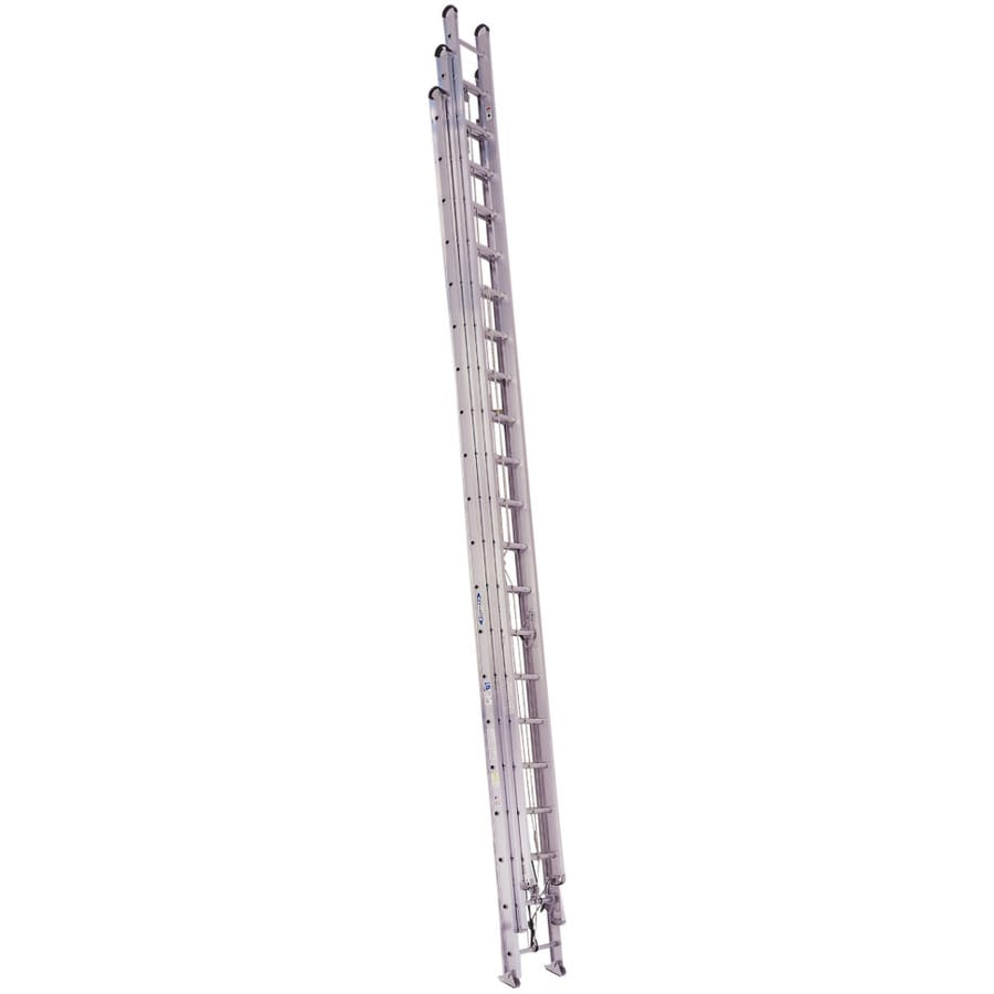 Shop Werner 60 Ft Aluminum 250 Lb Type I Extension Ladder