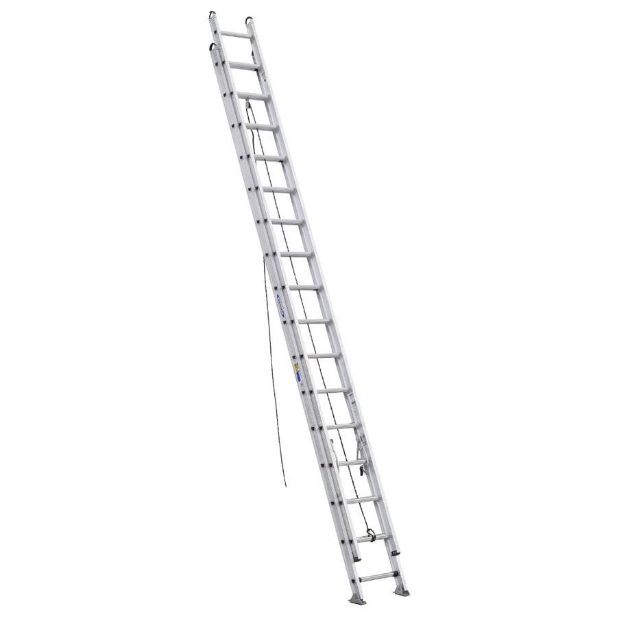 Werner 32-ft Aluminum 375-lb Type IAA Extension Ladder