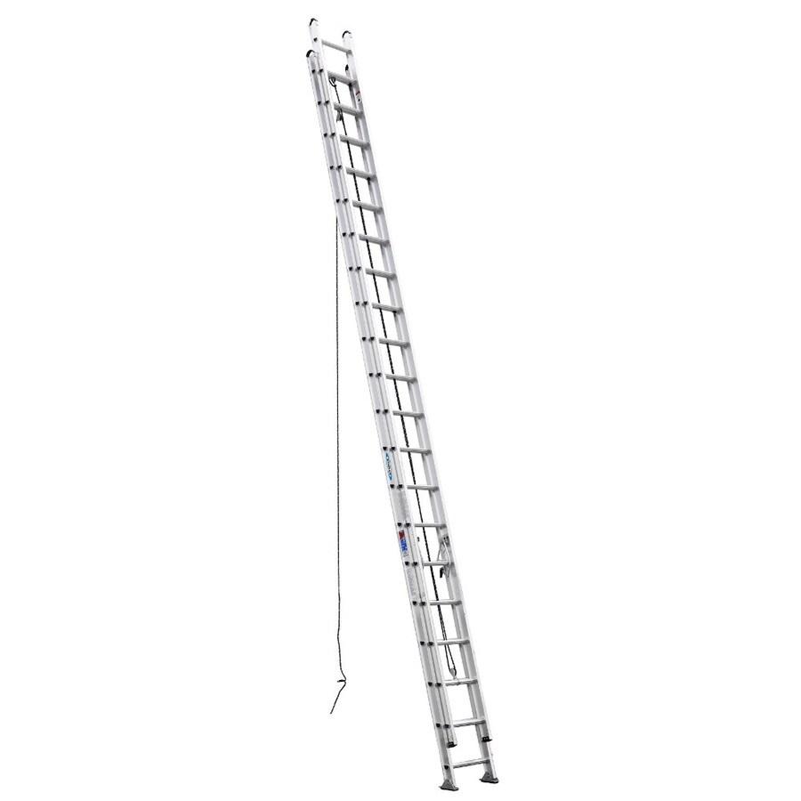 Werner 40-ft Aluminum 300 -lb Type Ia Extension Ladder