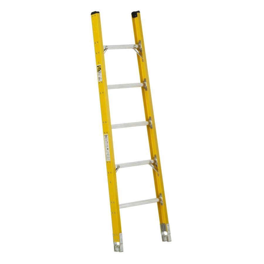 Werner 6-ft Fiberglass 375-lb Type IAA Sectional Ladder