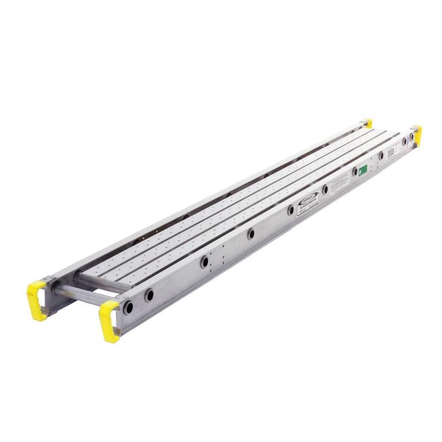 Werner 8-ft x 3-15/16-in x 12-in Aluminum Work Platform