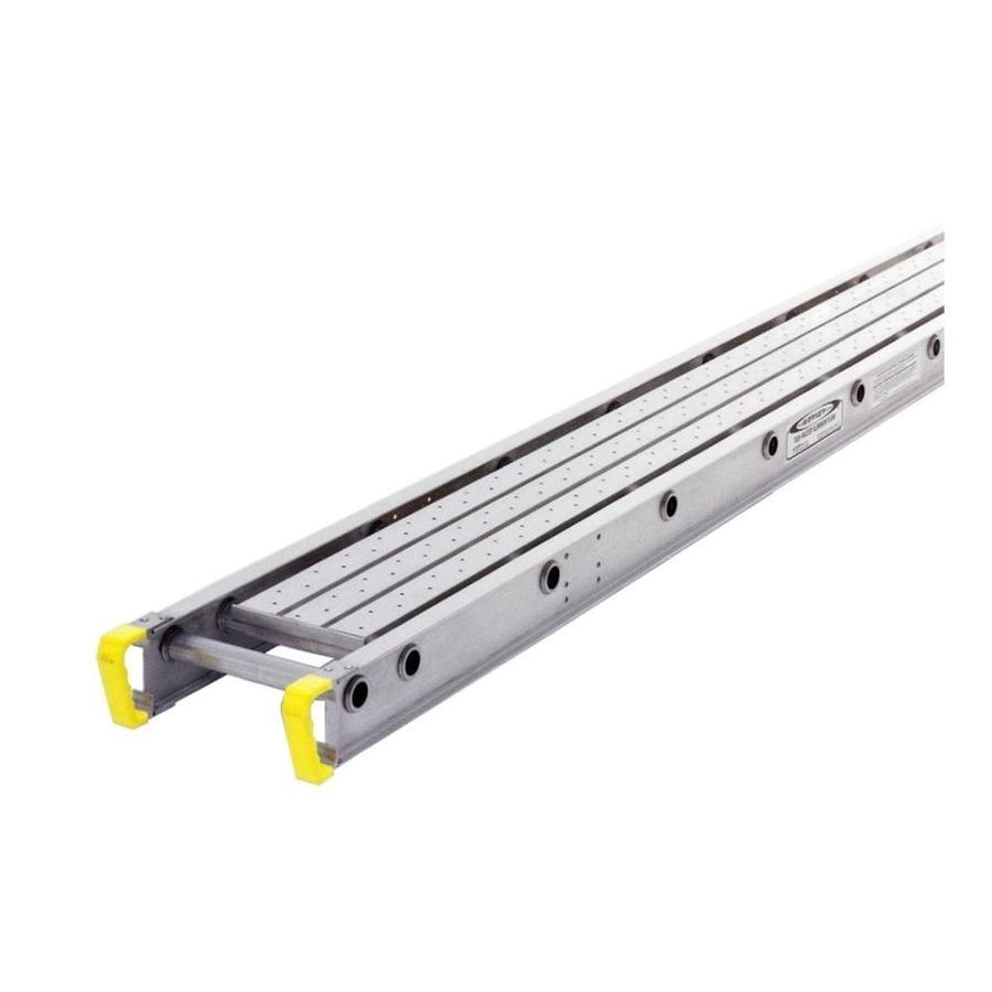 Werner 16-ft x 4-in x 12-in Aluminum Work Platform