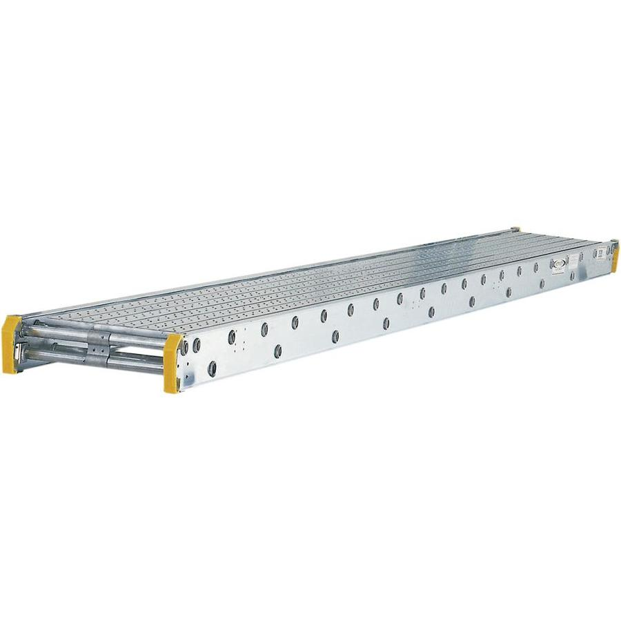 Werner 12-ft x 4-in x 20-in Aluminum Scaffold Stage
