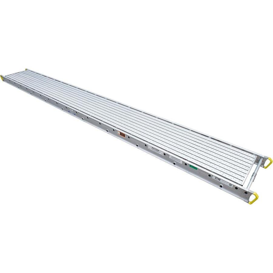 Werner 20-ft x 6-in x 28-in Aluminum Scaffold Stage
