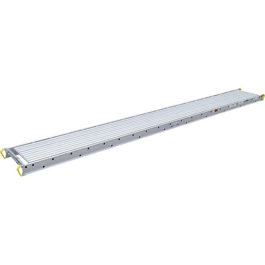 Werner 20-ft x 5-1/16-in x 27-15/16-in Aluminum Work Platform
