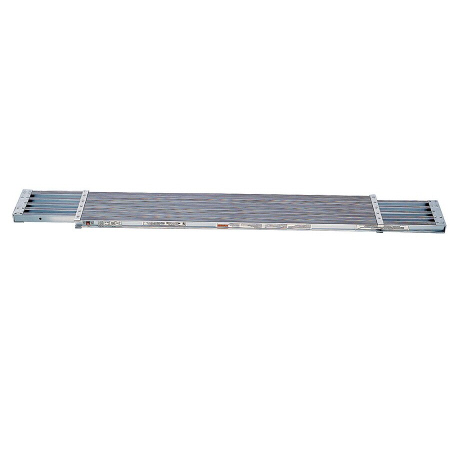 Werner 6-ft x 2.4-in x 25.92-in Aluminum Scaffold Plank