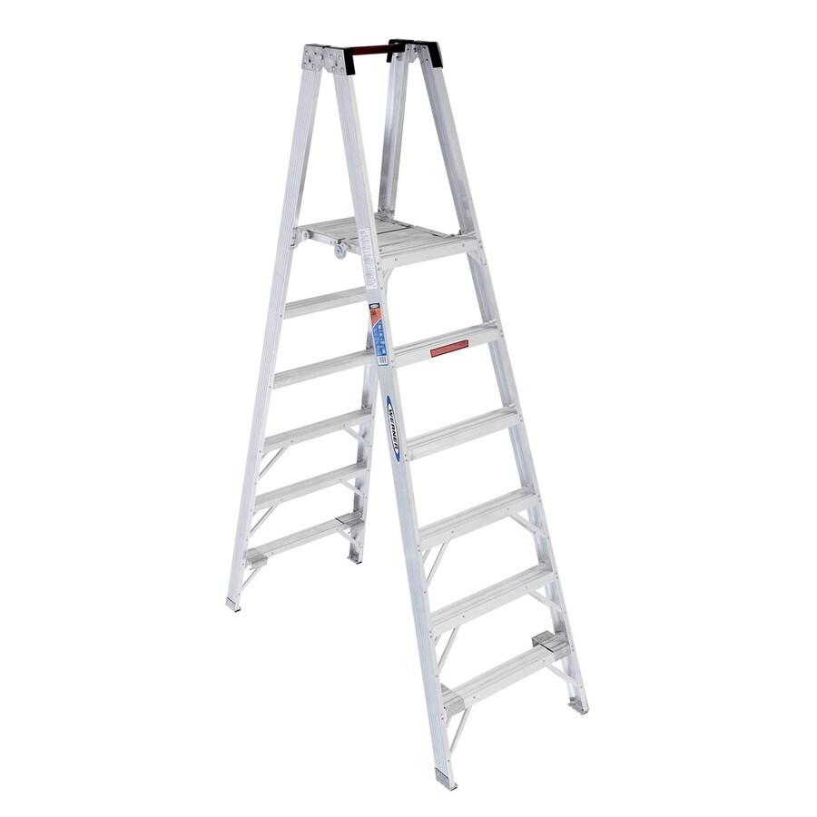 Werner 6-ft Aluminum 300-lb Type IA Stocker's Ladder