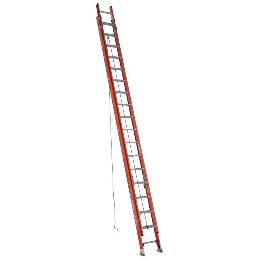 Werner 36-ft Fiberglass 300-lb Type IA Extension Ladder