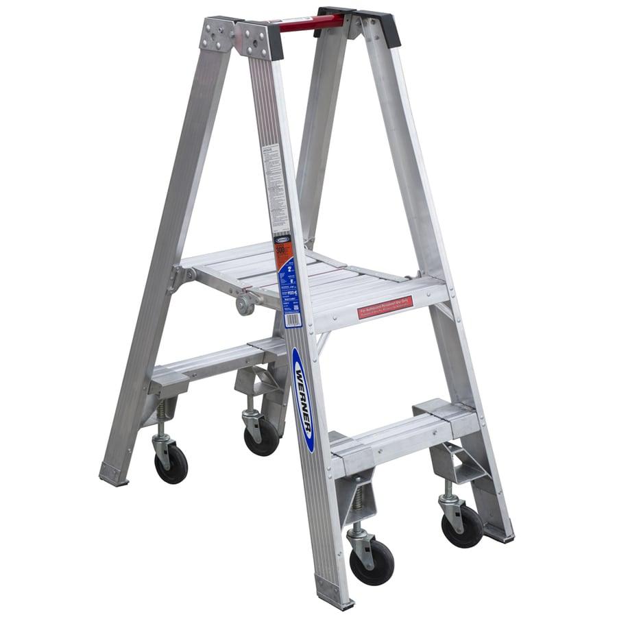 Werner 2-ft Aluminum 300-lb Type IA Stocker's Ladder