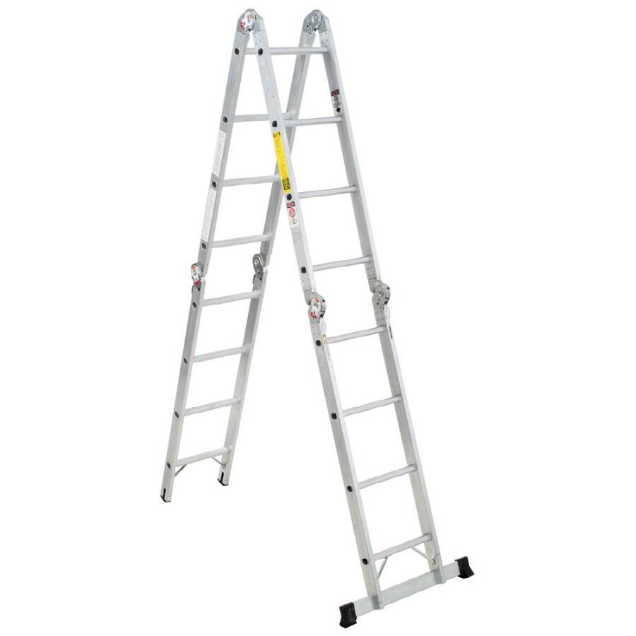 Werner 16-ft Aluminum 300-lb Type IA Multi-Position Ladder