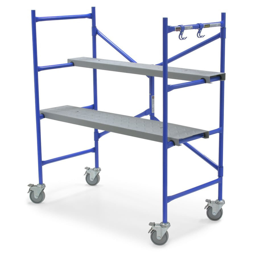Werner 4-ft x 50-in x 25-1/2-in Steel Portable Scaffold