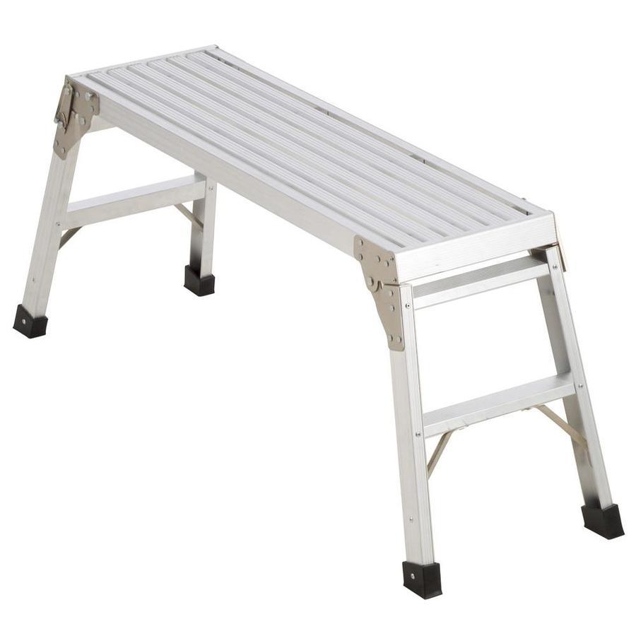 Werner 3.29-ft x 12-in x 20.56-in Aluminum Work Platform