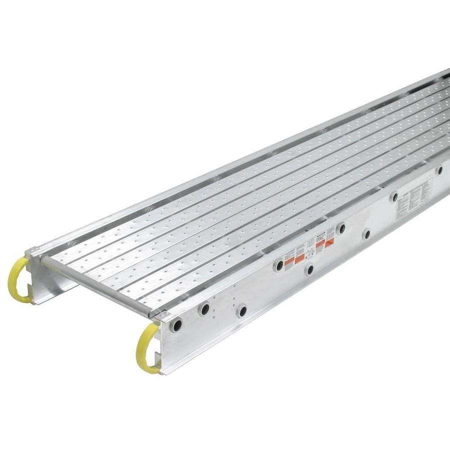 Werner 20-ft x 6-in x 20.4-in Aluminum Work Platform