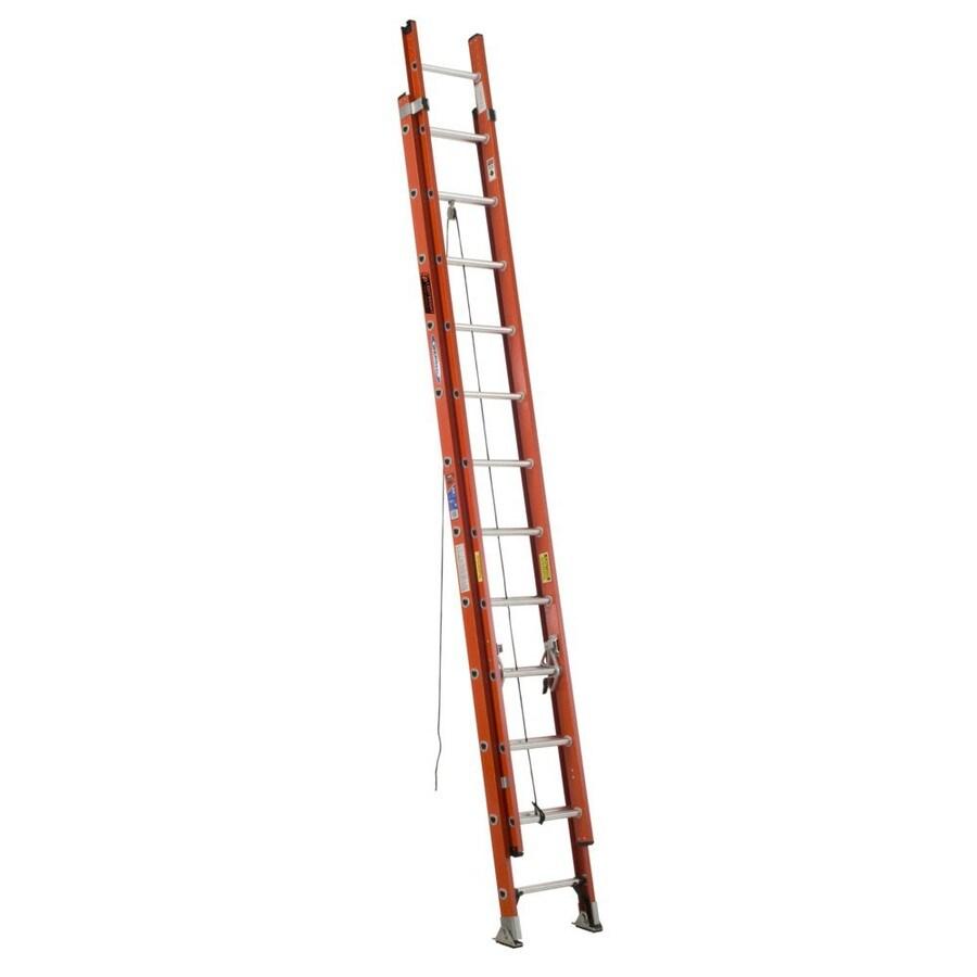Werner 24-ft Fiberglass 300 Lbs. Type Ia Extension Ladder