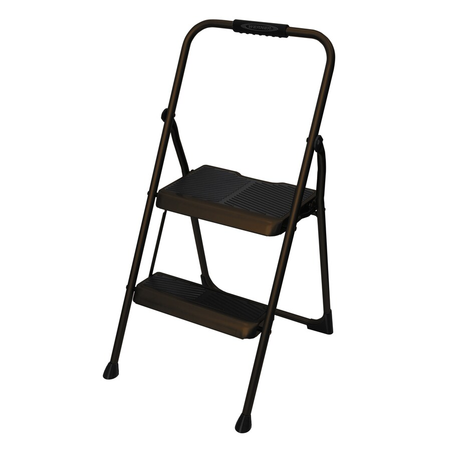Werner 2-Step Expresso Steel Step Stool