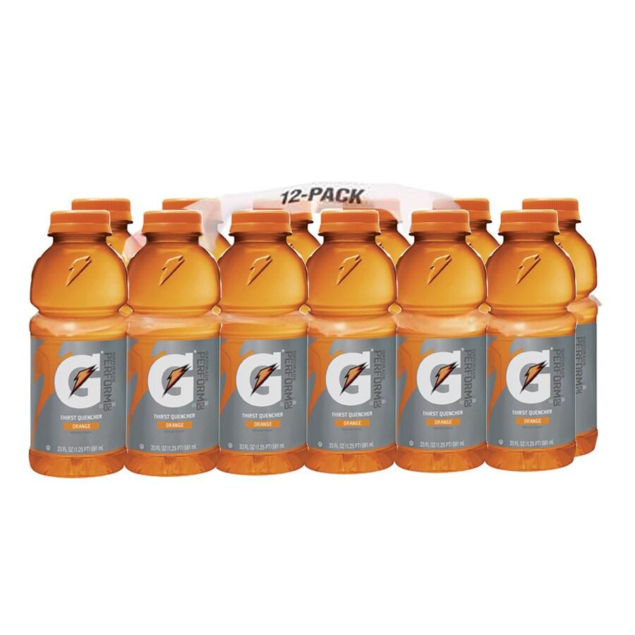 Gatorade 12-Pack 20-fl oz Orange Sports Drink