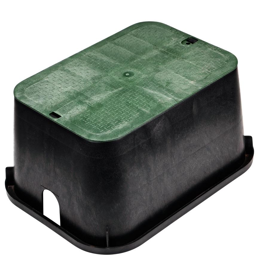 NDS 17-in L x 24-in W x 12-in H Rectangular Irrigation Valve Box