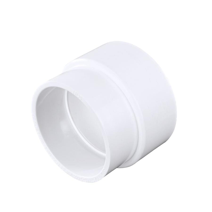 3-in x 4-in Dia PVC Sewer Drain Adapter Coupling